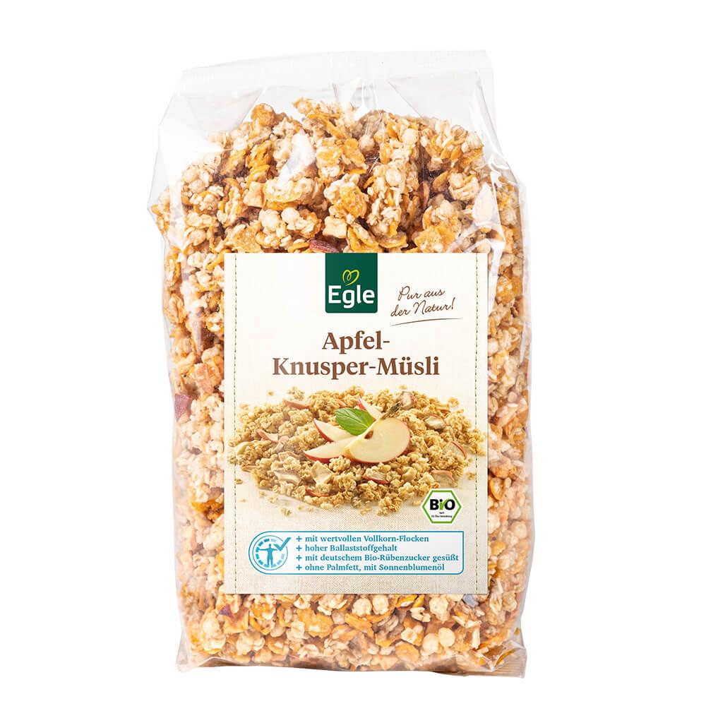 Bio Apfel-Knusper-Müsli, 400 g – Kostprobe