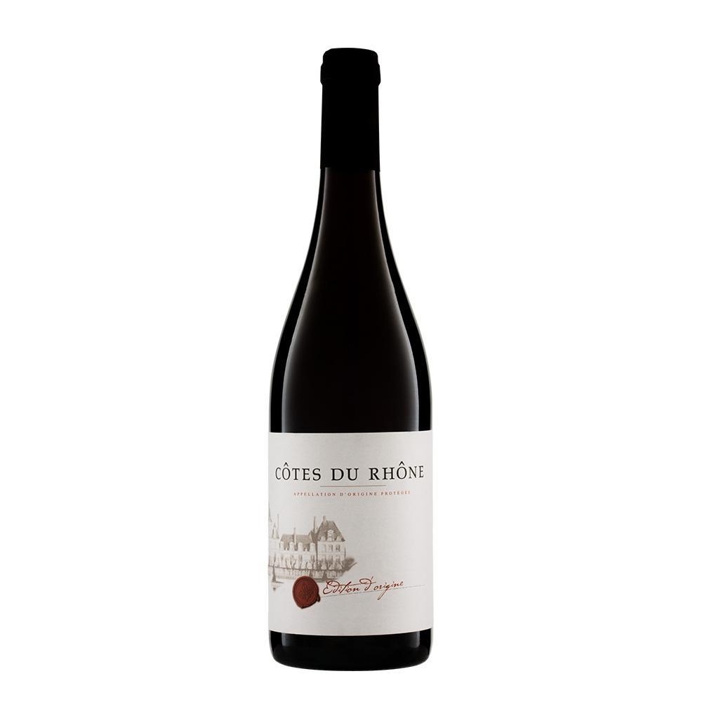 Côtes du Rhône Édition d'Origine - Bio Rotwein aus Frankreich 0,75 l