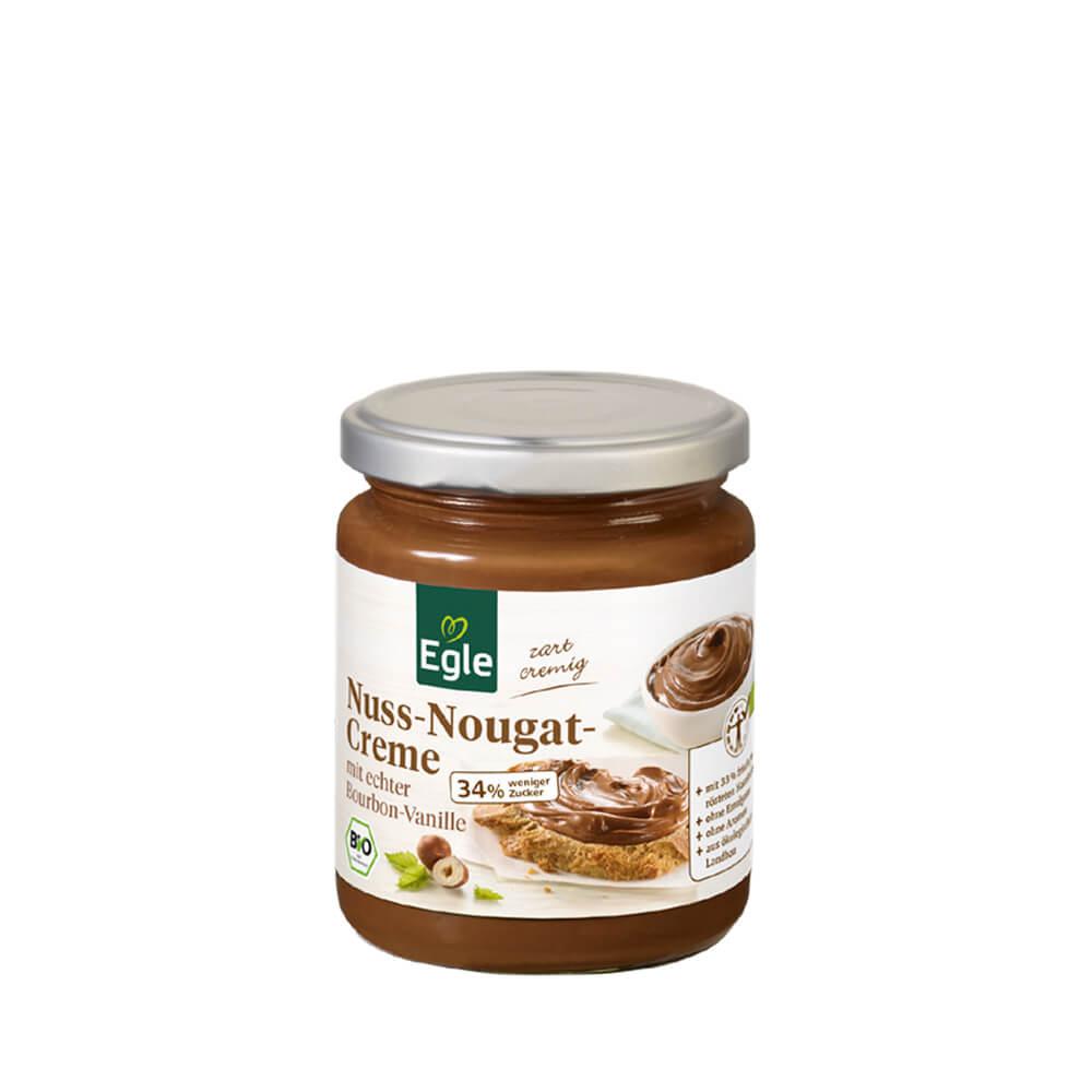 Zuckerreduzierte Nuss-Nougat-Creme 250 g