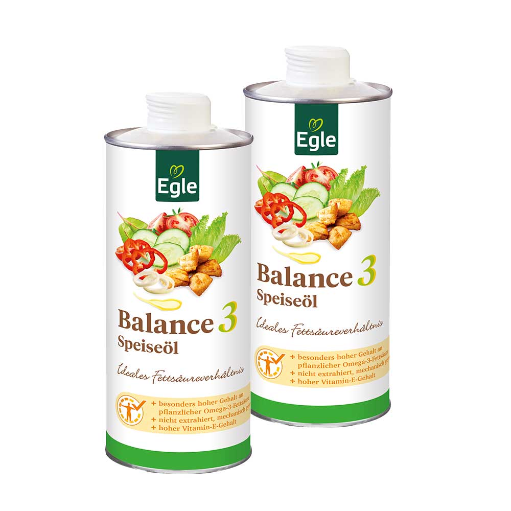 Balance 3 Speiseöl, 2 x 0,75 l – Doppelpack