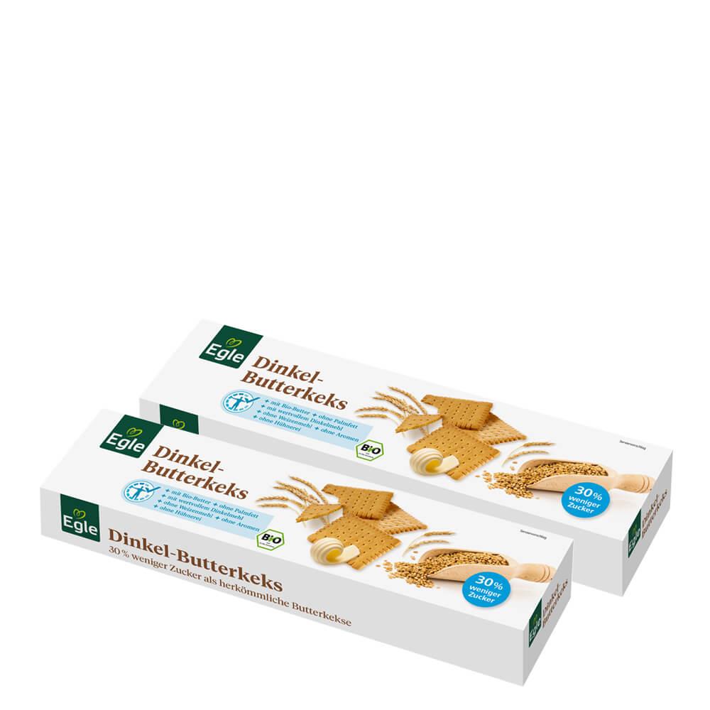 Bio Dinkel Butterkekse 2 x 200 g