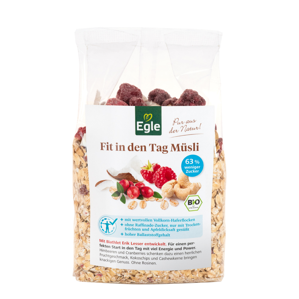 Gratis Fit in den Tag Müsli 400 g