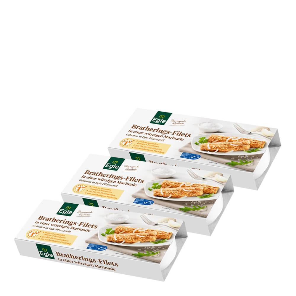 Bratherings-Filets in würziger Marinade 3 x 325 g