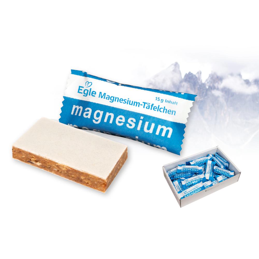 Magnesium-Täfelchen 40 x 15 g