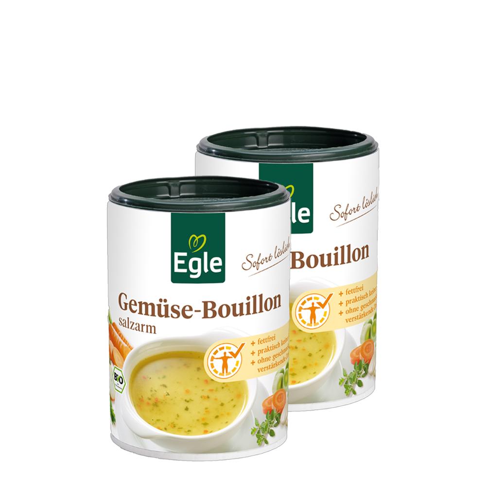 Salzarme Bio Bouillon 2 x 160 g