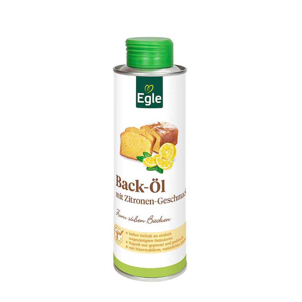 Backöl mit Zitronengeschmack  0,25 l