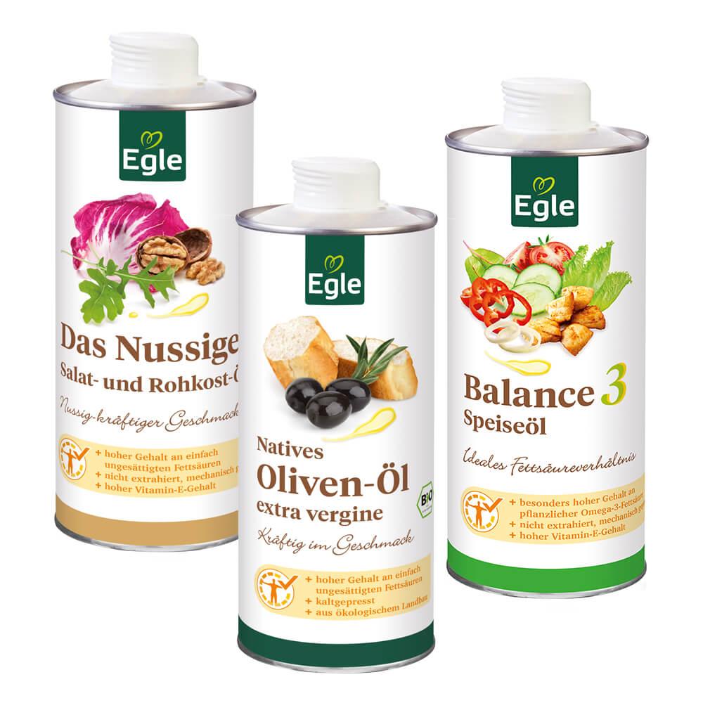 Salat-Spezial Öl-Paket