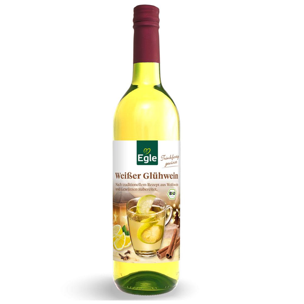 Weißer Bio-Glühwein 0,75 l
