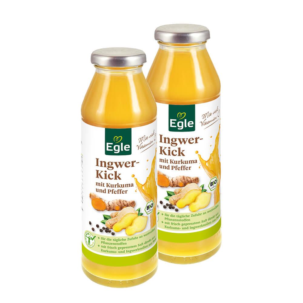 Bio Ingwer-Kick 2 x 280 ml