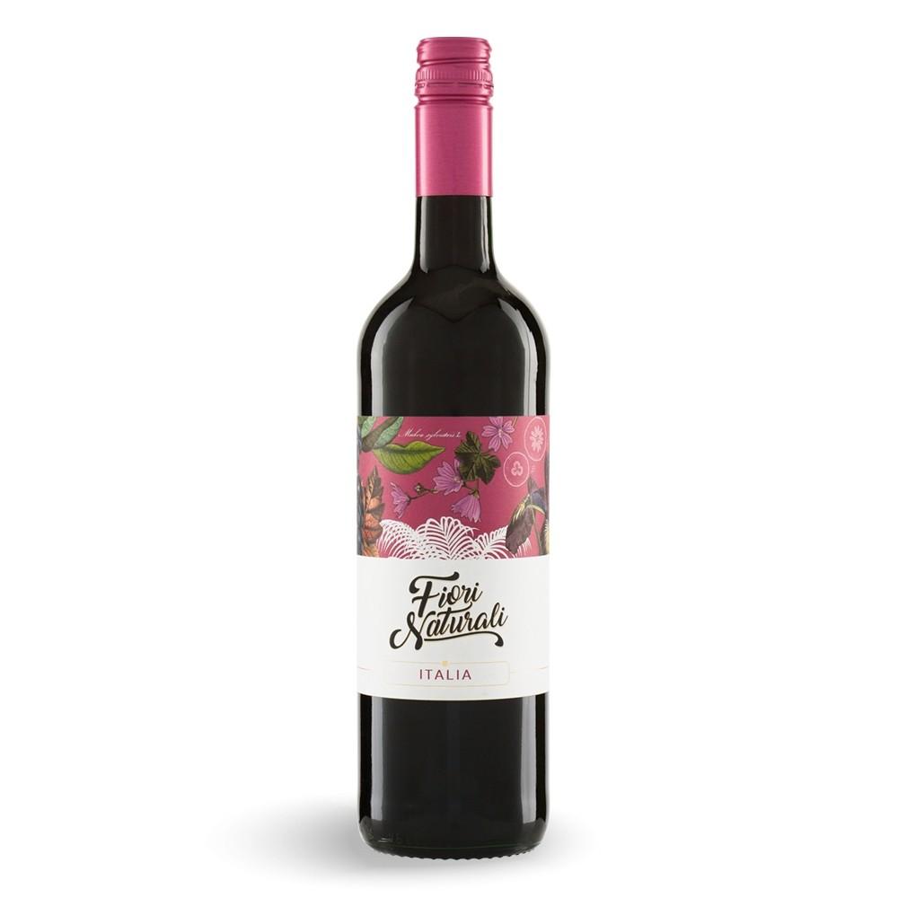 Fiori Naturali Rosso - Bio Rotwein aus Italien 0,75 l