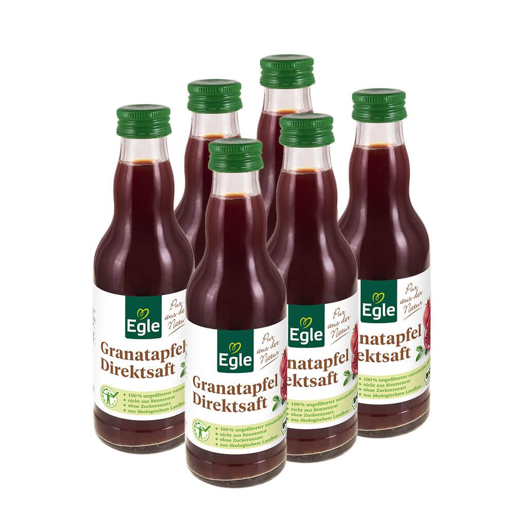 Bio Granatapfelsaft 6 x 200 ml