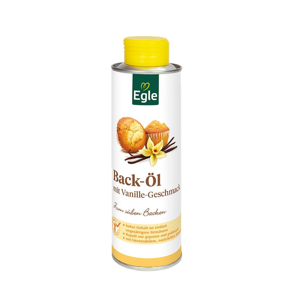 Backöl mit Vanillegeschmack, 0,25 l