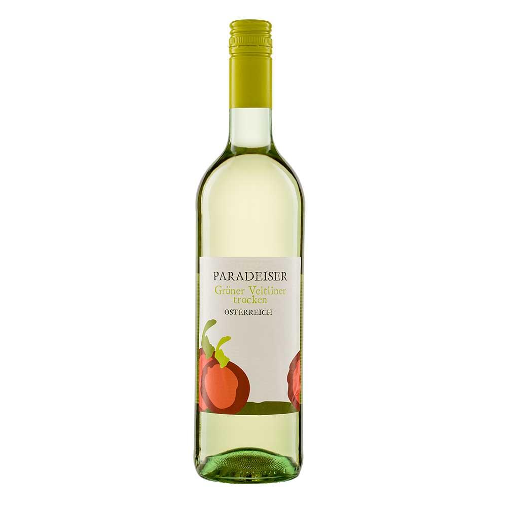Paradeiser Grüner Veltliner - Bio Weißwein aus Österreich 0,75 l