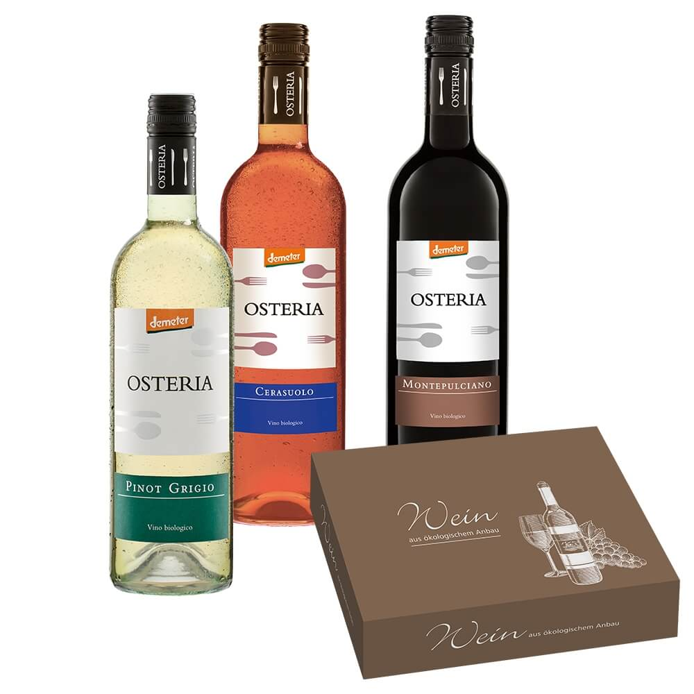 Osteria Weinpaket 3 x 0,75 l