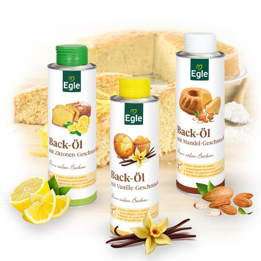 Back-Öl-Paket 3 x 0,25 l