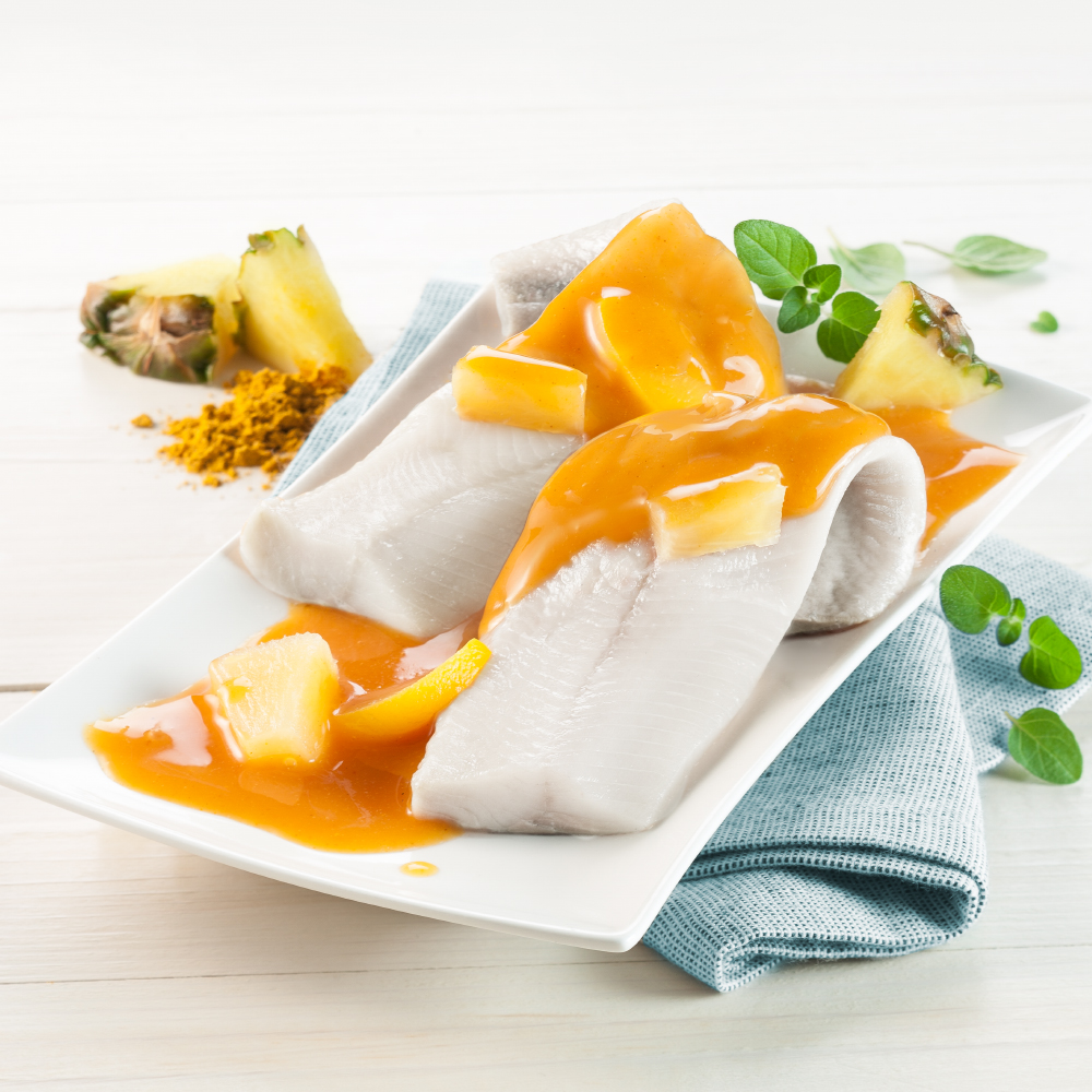 Heringsfilets in Curry-Ananas-Sauce 3 x 190 g