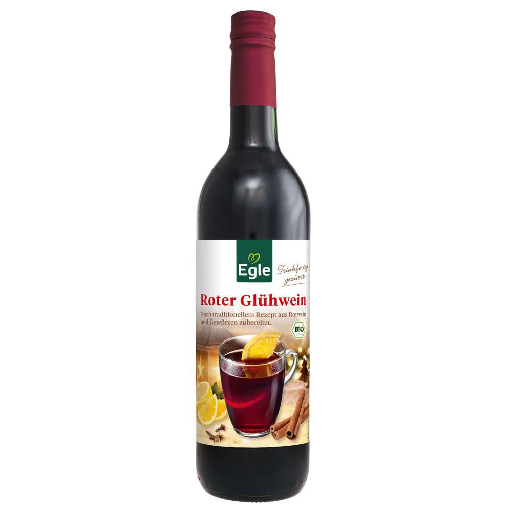 Roter Bio-Glühwein 0,75 l