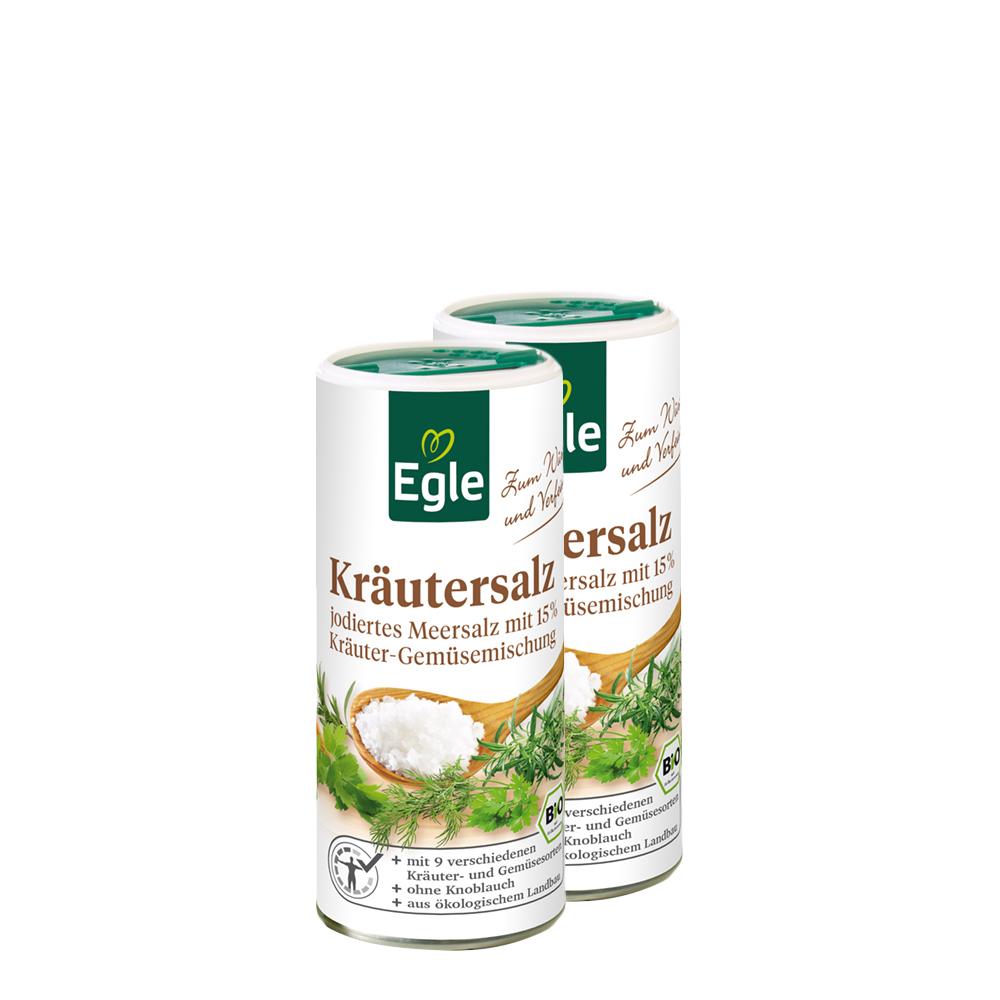 Bio Kräutersalz 2 x 250 g