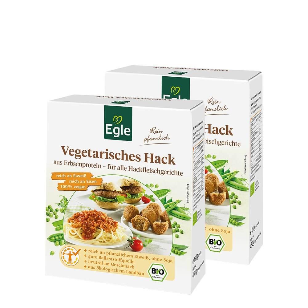 Vegetarisches Bio-Hack 2 x 150 g