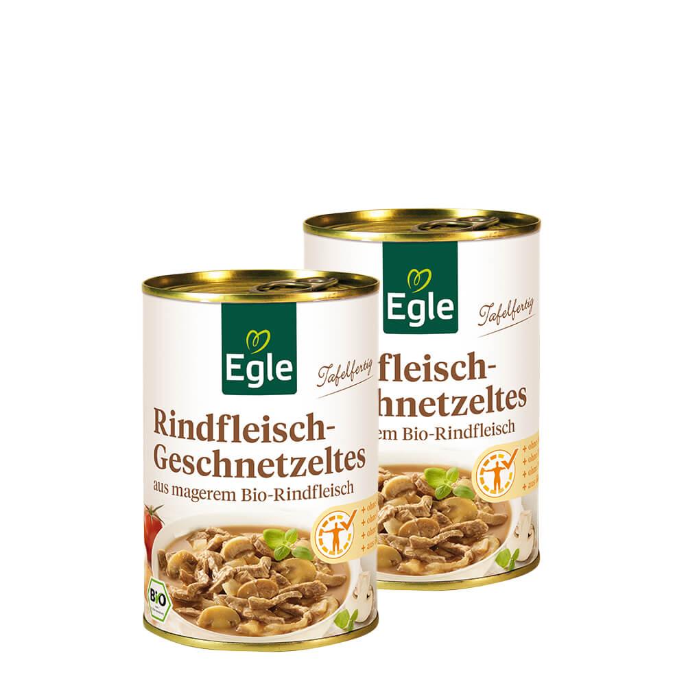Bio Rindfleisch-Geschnetzeltes Doppelpack 2 x 400 g