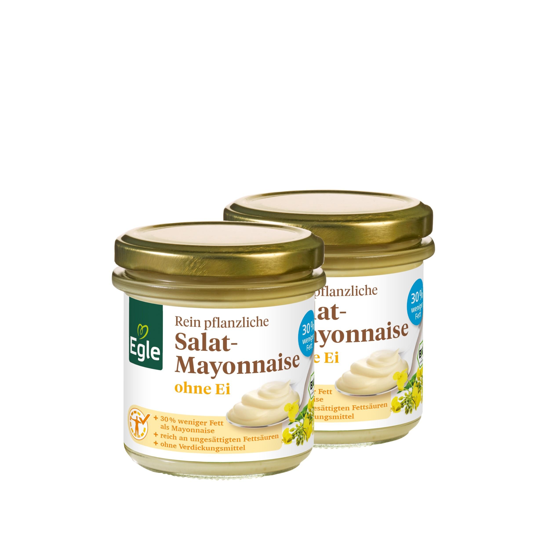 Vegane Bio Salat-Mayonnaise, 2 x 125 g