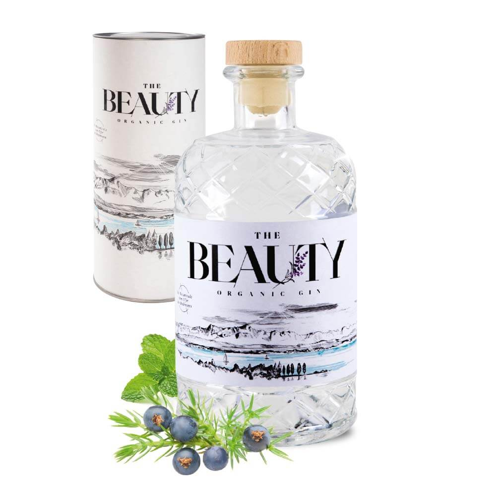 """Bio Gin vom Bodensee """"The Beauty"""" 0,5 l"""