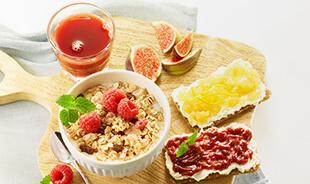 Frühstück mit Navi