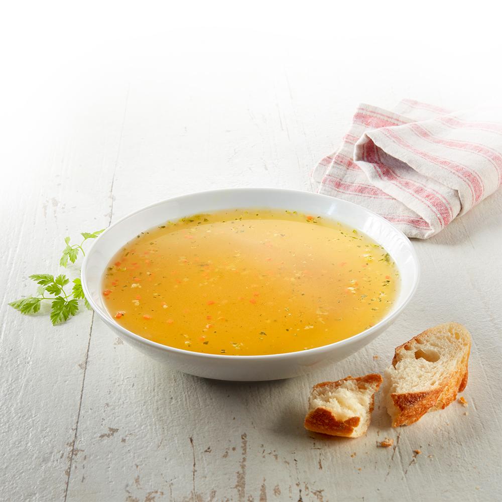 Klare Delikatess-Suppe 400 g - Kostprobe