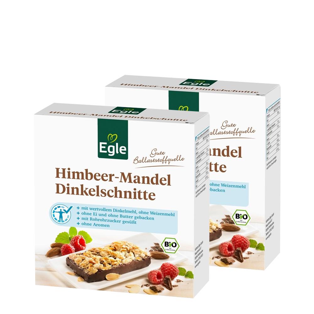 Bio Himbeer-Mandel-Dinkelschnitte 4 x 75 g