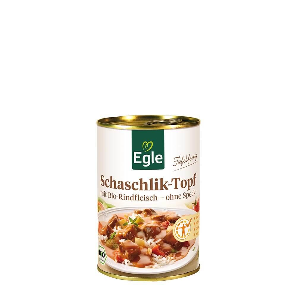 Bio Schaschlik-Topf mit Rindfleisch 400 g
