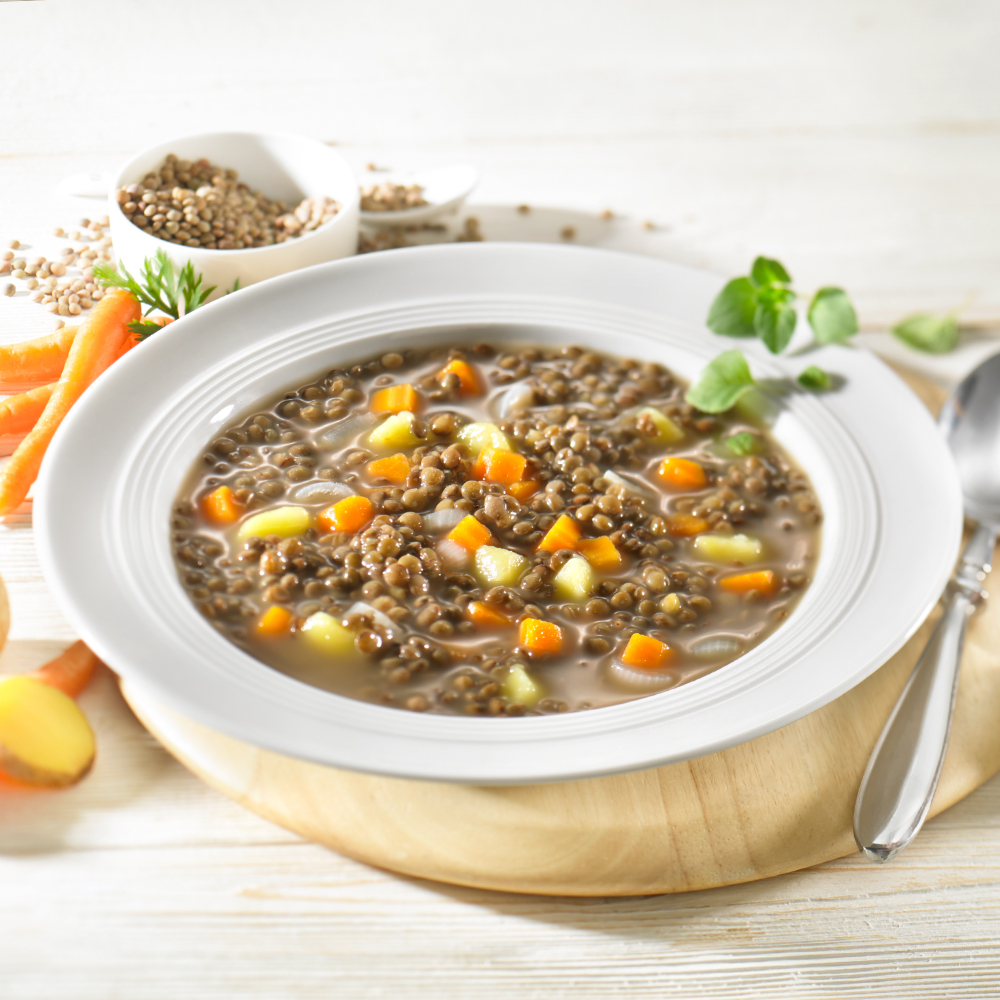 Vegetarischer Bio Linsen-Eintopf 400 g