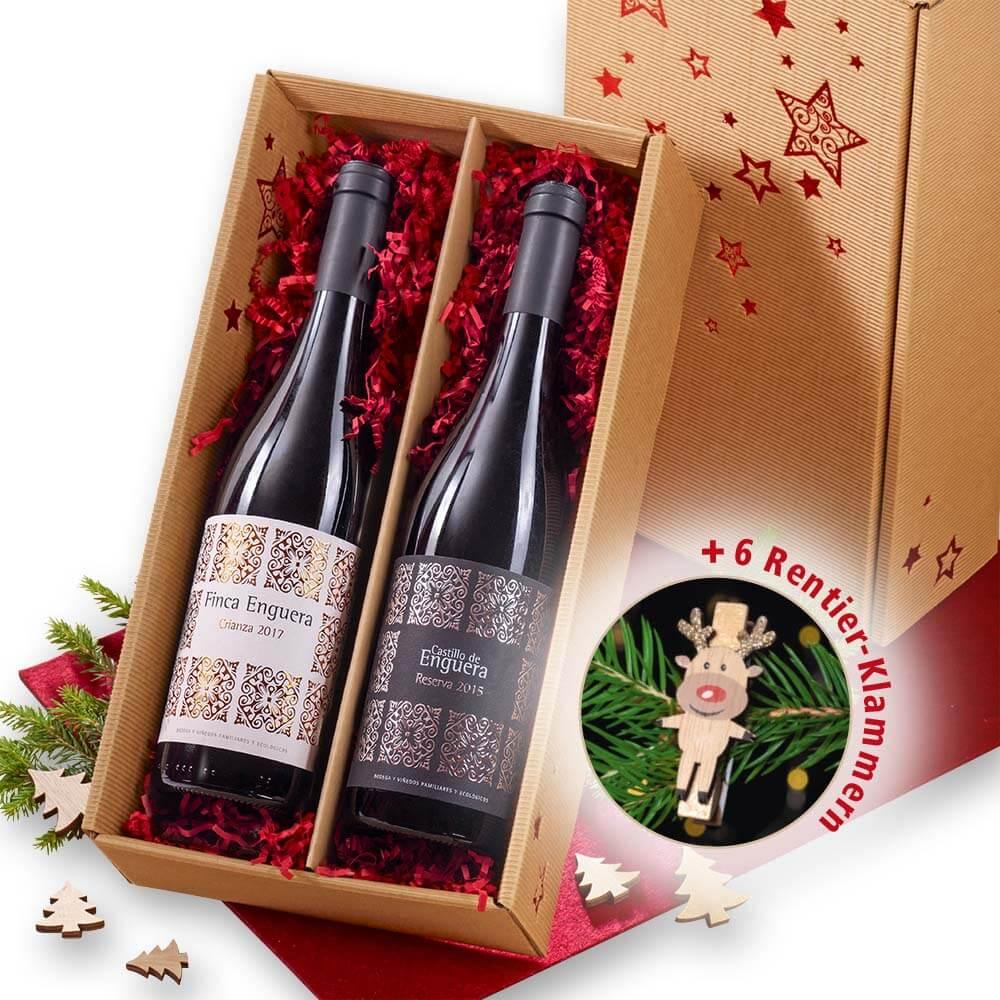 """""""Rotweine fürs Fest"""" Geschenkpaket"""