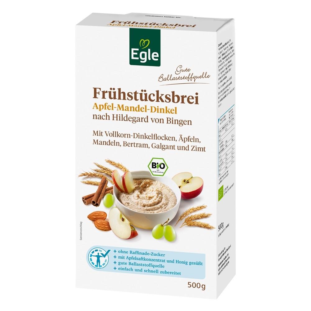 Bio Frühstücksbrei Apfel-Mandel-Dinkel 500 g