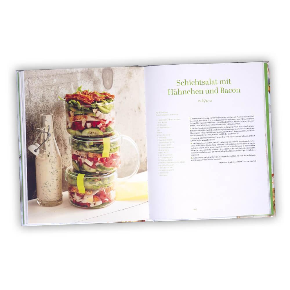 Rezeptbuch für 70 sommerfrische Salate