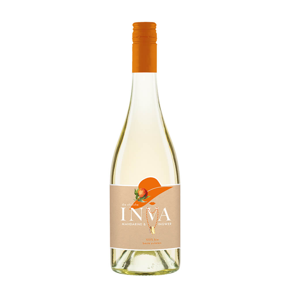 Inva - Mandarine & Ingwer, 0,75 l