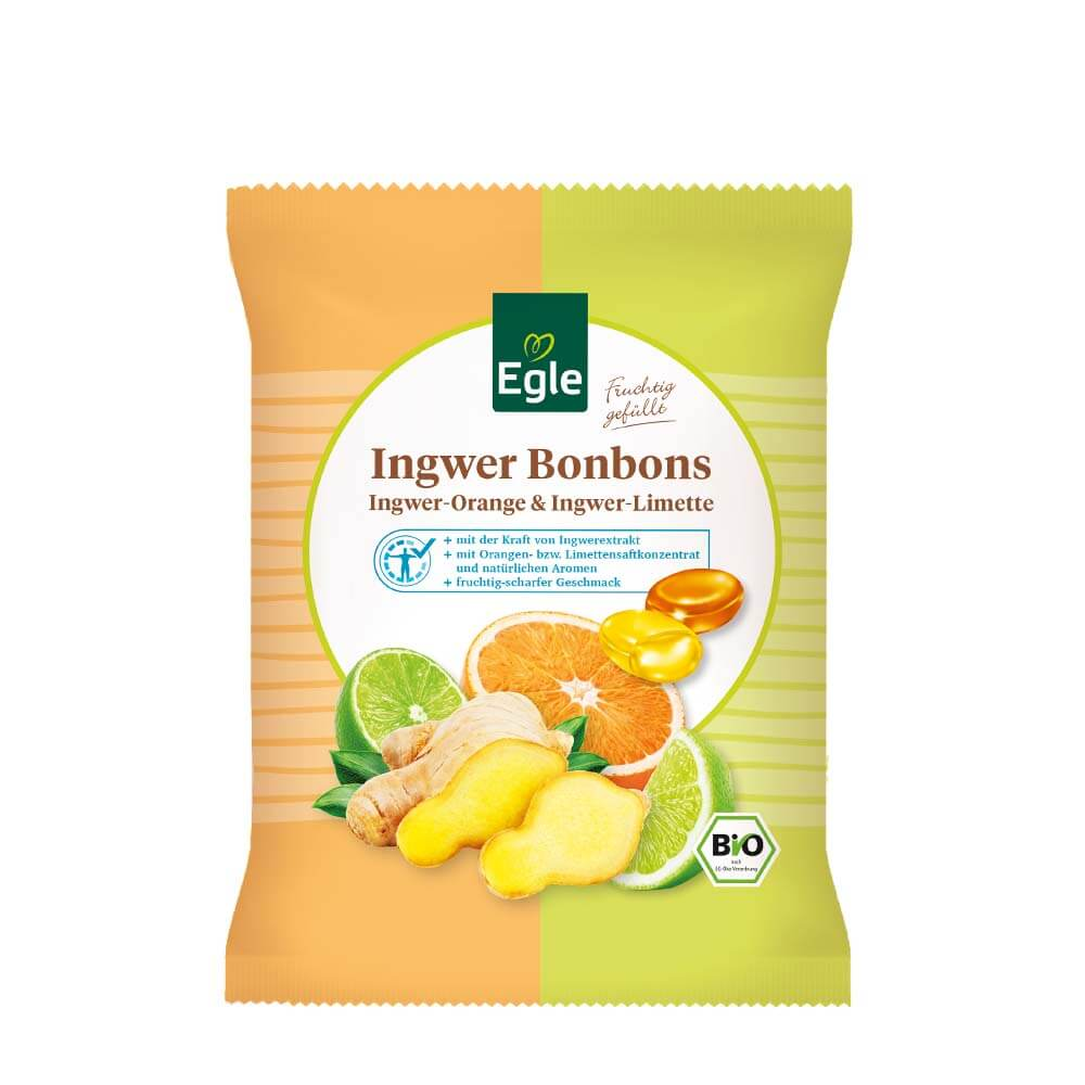 Bio Ingwer Bonbons 2 x 75 g