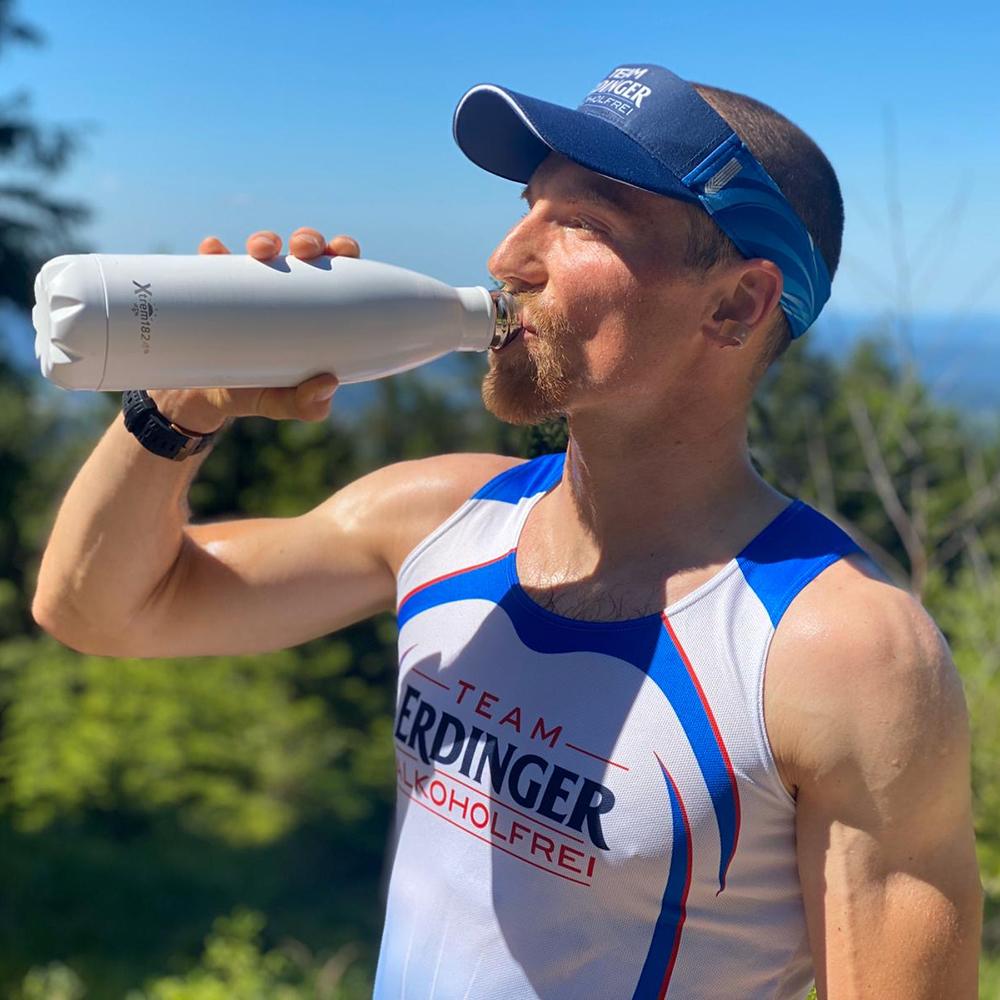 Thermo-Isolier-Trinkflasche aus Edelstahl