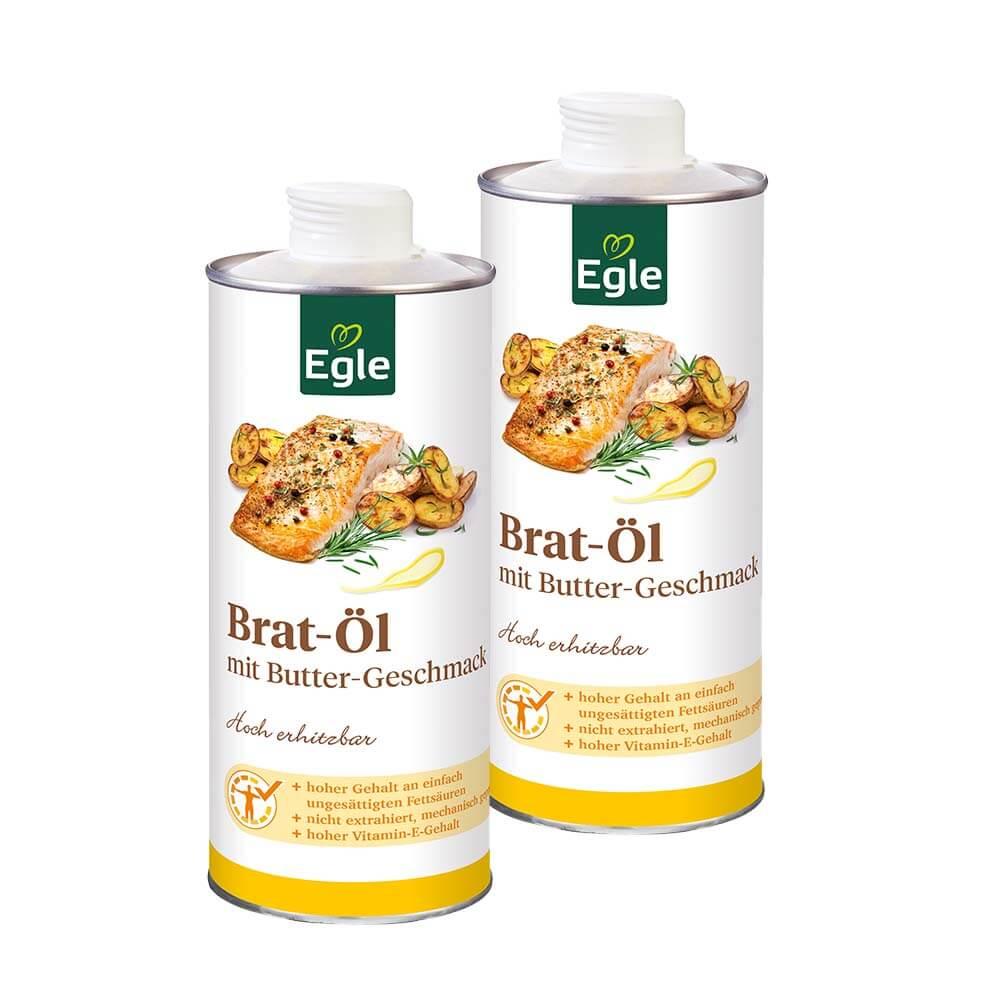 Bratöl mit Buttergeschmack 0,75 l