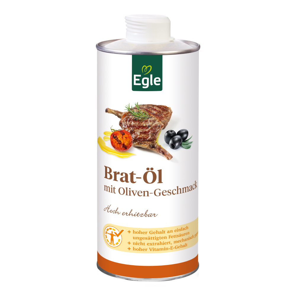 Bratöl mit Oliven-Geschmack 0,75 l